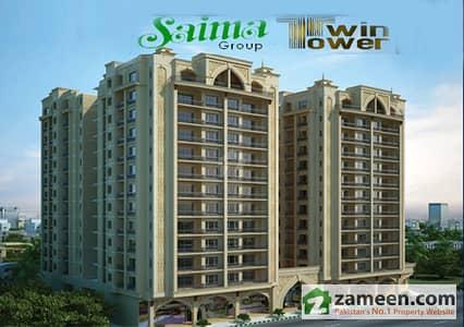 Saima Twin Towers Brand New Apartment For Sale In KDA Scheme 1 Karachi
