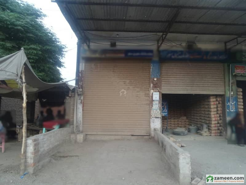 Double Storey Beautiful Commercial Shop Available For Rent At Faisalabad Road, Okara