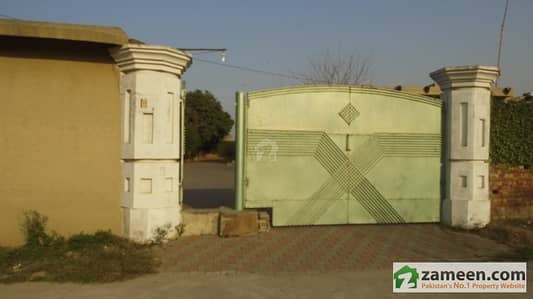 Farm House For Rent At Harbanspura Canal Road