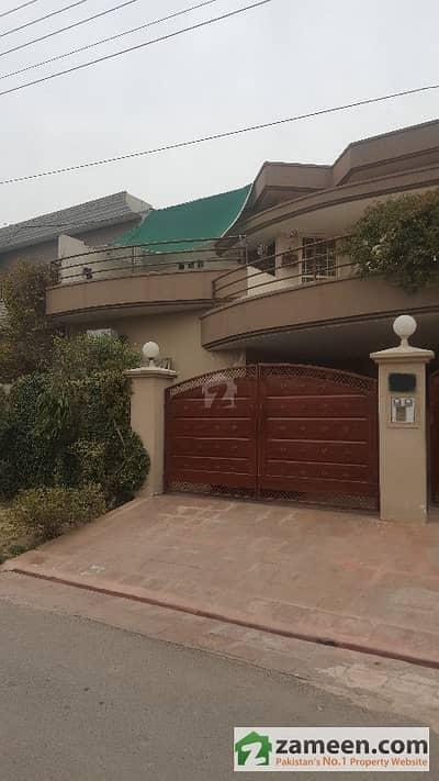 Samar Associates Offers 10 Marla Corner House Facing Park For Sale In Punjab Govt Employees Phase 1 Block A4