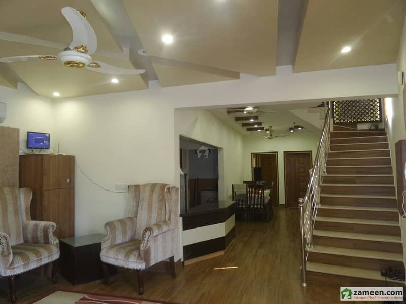 West Open Fully Furnished House For Sale In Muslimabad On Kashmir Road