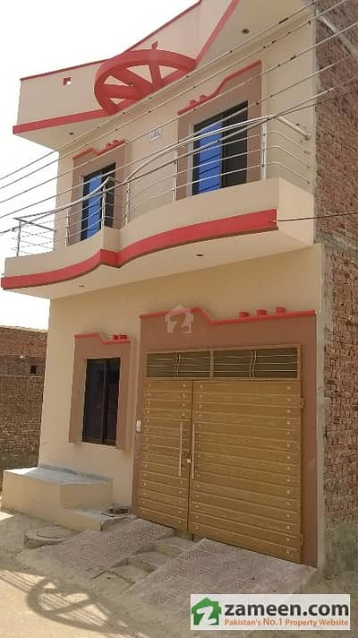 3. 5 Marla Double Storey House For Sale In Zahid Town In 85/6R Sahiwal