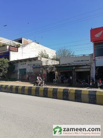 Commercial Building Near Sajjad Autos 2 Side Open 33 Feet Front 70 Foot Length