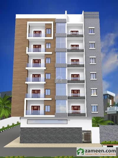4 Rooms Flat For Sale In Pak Modern Colony