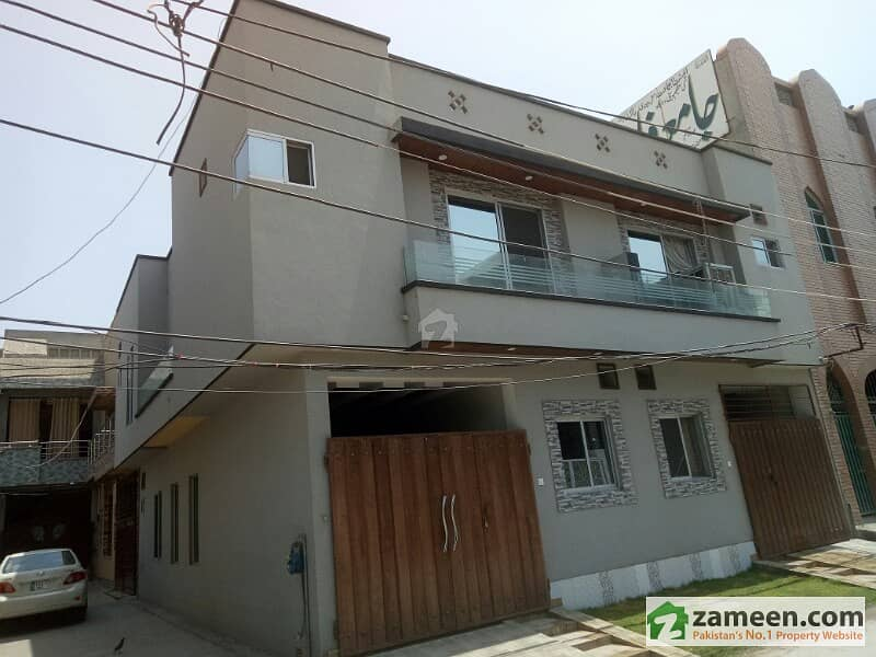 3 Marla Corner Brand New House Available For Sale