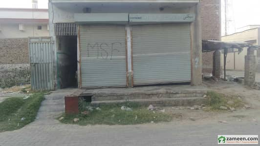 Single Storey 2 Shops For Sale At Faisal Colony - 2 Okara
