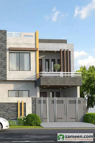 6 Marla Brand New Double Storey Beautiful Furnished House Available For Sale