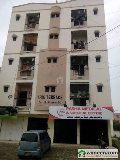 Maymar Trio Luxury Apartment For Sale In Gobal Town Karachi