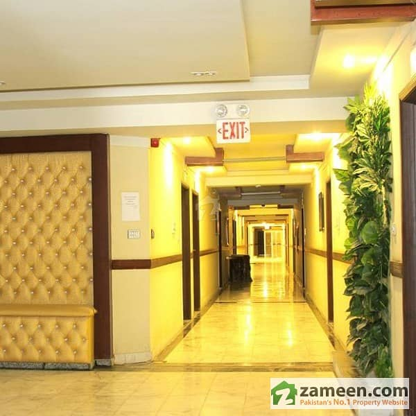 1 Bed Fully Furnished Flat For Sale In QJ Height Phase 1 Bahria Town Islamabad