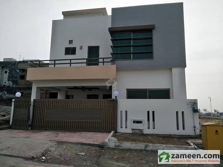 Brand New 8 Marla Double Unit House For Sale In Awais Block Phase 8 Bahria Town
