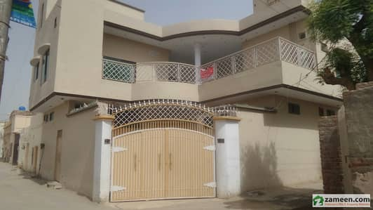 10 Marla Double Story Corner House For Sale