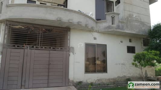 5 Marla Double Story Corner House For Sale