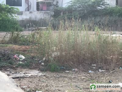Commercial Plot For Sale On Main Clifton - Block 5