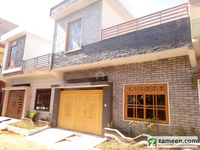 120 Sq Yards Brand New House For Sale
