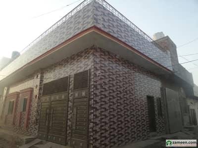 Single Storey Brand New Beautiful Corner House For Sale At Makkah Madni Town, Okara
