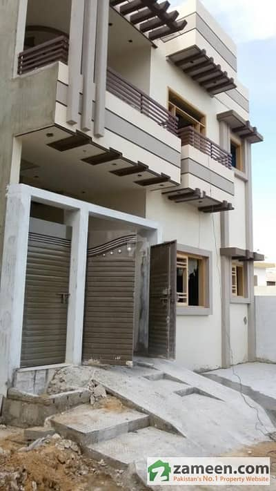80 Square Yards Double Storey New Constructed House For Sale