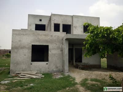 Gray Structure House For Sale