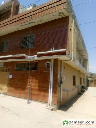 5 Mrla Double Story House For Sale In Al Huda Town Main Lethrar Road