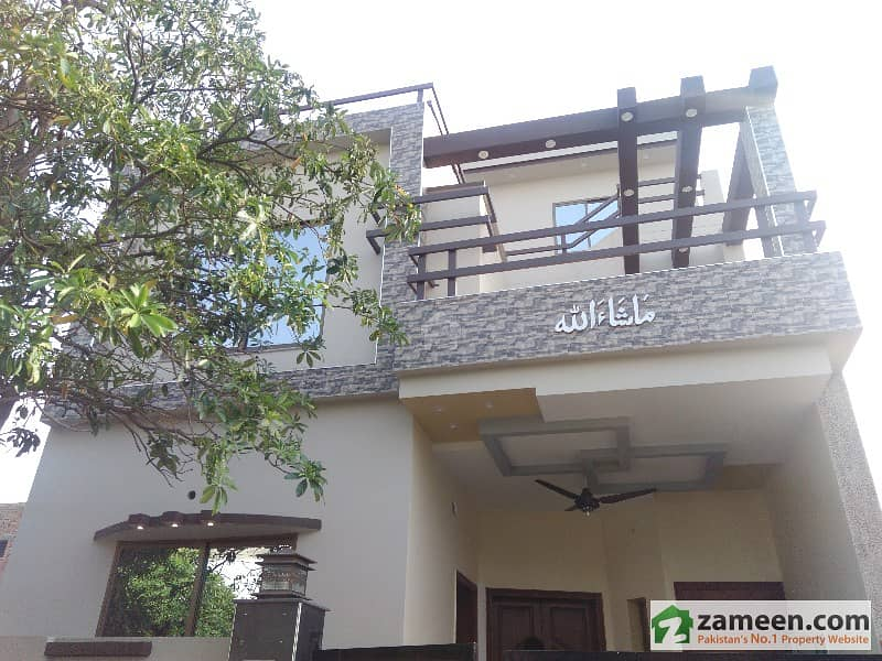 10 Marla Brand New Double Story House East Open Available For Sale