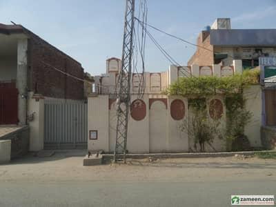Single Story Beautiful Bungalow For Sale At Benazir Road, Okara