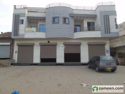 Commercial Double Storey Corner Building Is Available For Rent