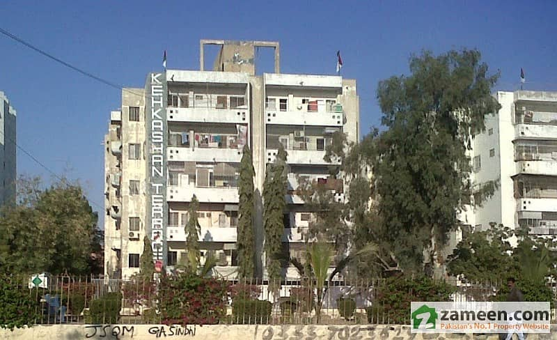 Flat For Rent With 3 D/D Kehkashan Terrace Near Johar Chorangi Gulstan-E-Johar Block 13