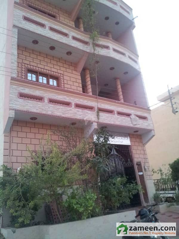 Ground + 2 - 120 Sq Yards House For Sale Gulshan-e-Maymar - Sector R