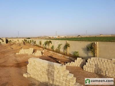 Farm House Plot For Sale On Installments In A Gated Boundary Wall Project