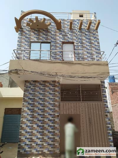 2 Marla Brand New Double Storey House For Sale At Chungi Amer Sadhu