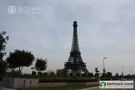 Eiffel Tower Park View Commercial Plot 3 Sides Open Corner Bahria Town