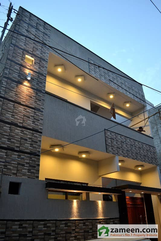 80 Sq Yard Ground 1 Vip Home For Sale North Karachi