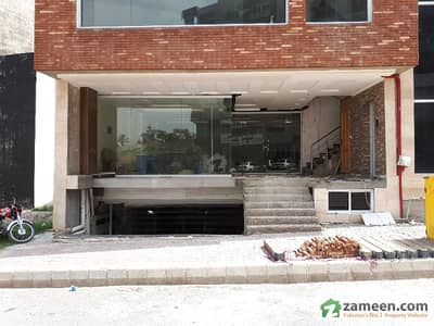 Shop On Ground Floor On Gt Road In Front Of Dha 2 Near World Trade Center Islamabad