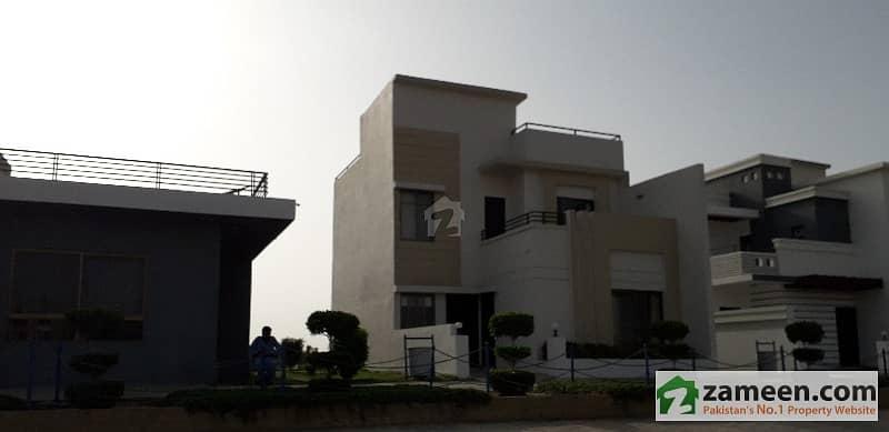 Fazaia Housing Scheme Karachi  125 Sq Yd Double Storey Bungalow