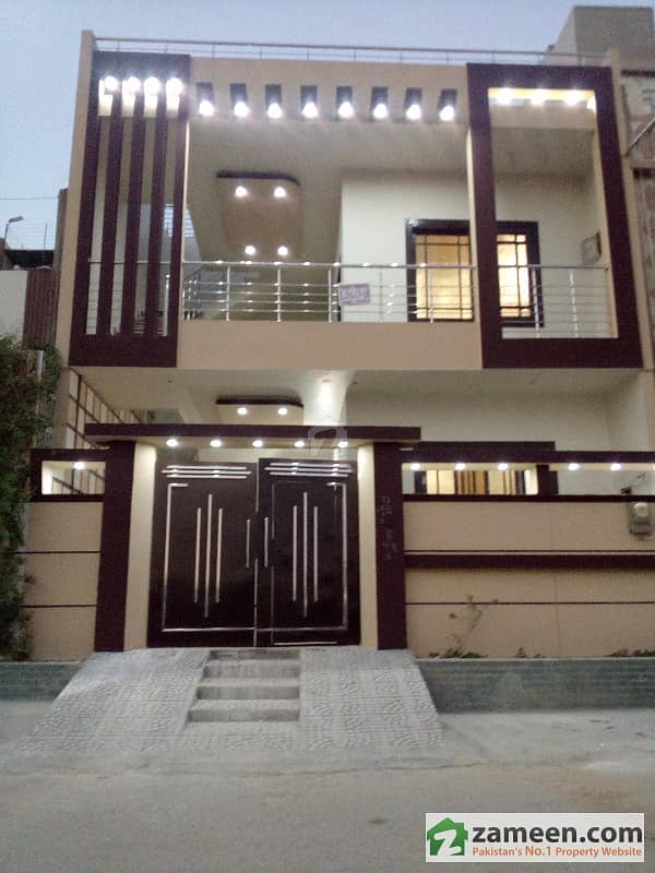 Home Design Ideas Elevation: G Plus 1 Park Facing Out Class
