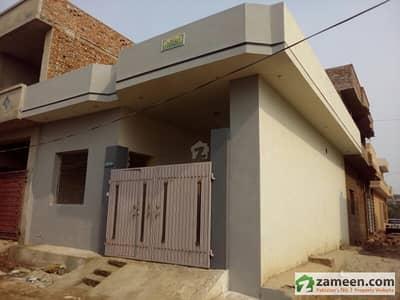 3 Marla Single Storey Newly Built House 25x33