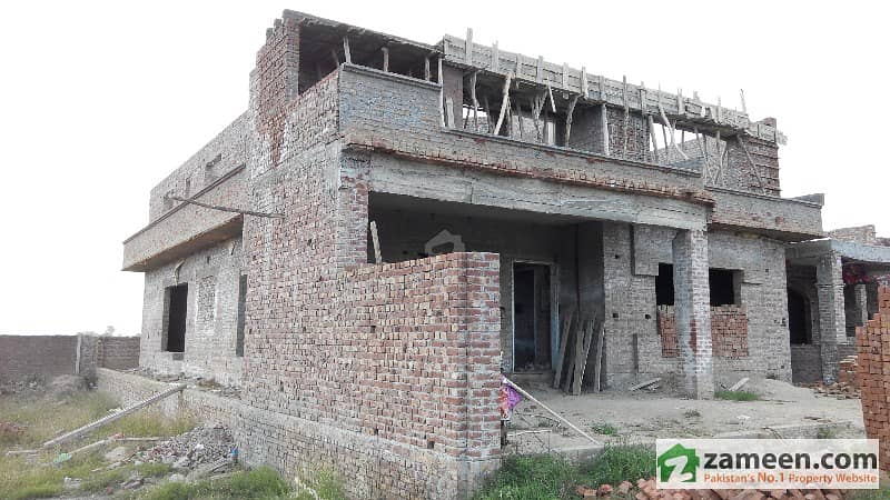 1 Kanal Double Storey House Only Complete Structure