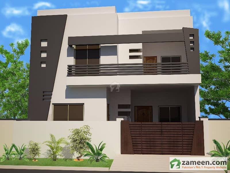 5 Marla House Designed By Architect Mian Tahir Irshad Punjab Coop