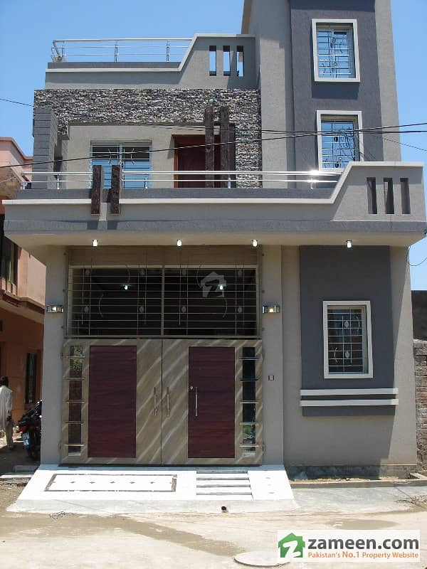 5 Marla Corner Brand New Double Unit Luxury House For Sale In 85 Lac Al-Amin Housing Society