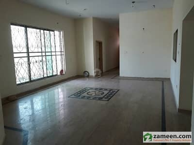 1 Kanal Ground Portion Of Double Story House For Immediate Rent
