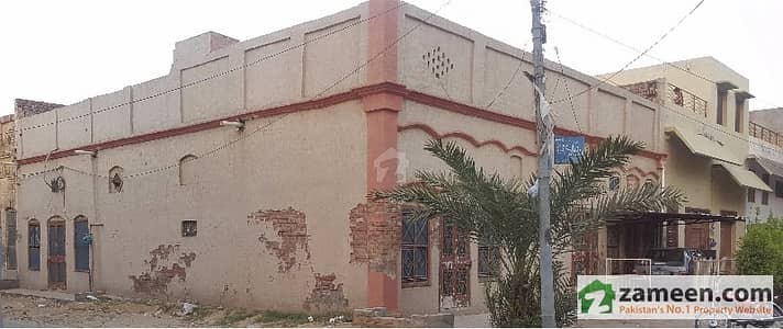 Corner House For Sale At Commercial Area Of Sahiwal