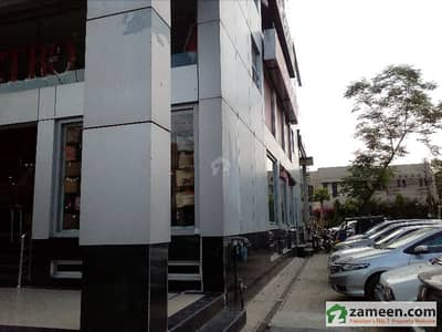 DHA 8 Marla Corner Commercial Building Ground Mezzanine Hottest Location