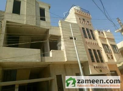 120 Sq Yards University Road Brand New House For Sale