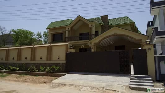1 Kanal 5 Bed Brand New Double Storey Double Unit House For Sale In Gulshan Abad Rawalpindi