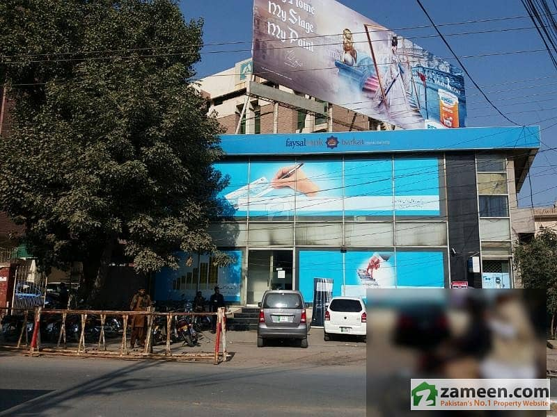 Abdali Road Multan Double Storey Building On Main Commercial For Rent