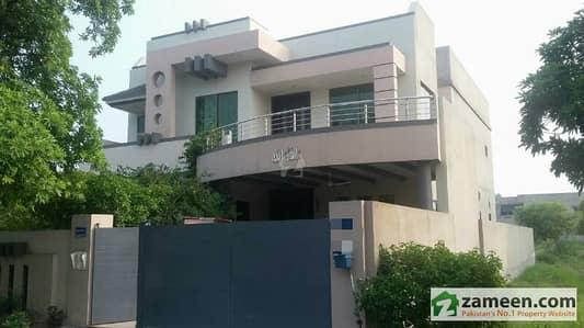 1 Kanal Beautiful And Well  Built House For Sale In Wapda City - Block J Faisalabad