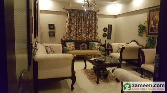 1700 Sq. Ft 3 Bedrooms Apartment For Sale In Clifton Block 5 Karachi