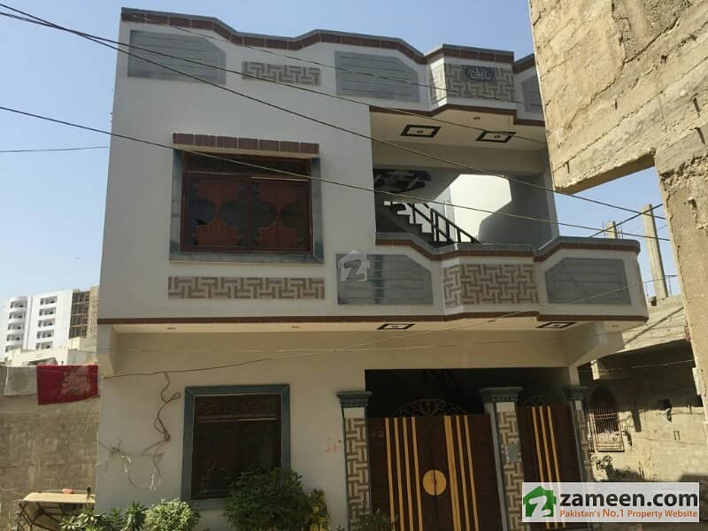 Corner Brand New House For Sale Ground Plus 1