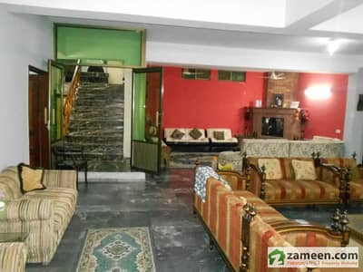 Stylish 1 Kanal 4 Marla Beautiful House Garden Block Garden Town Lahore