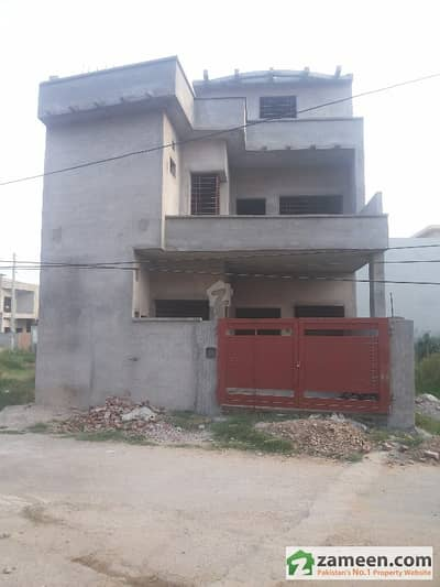 Grey Structure 5. 5 Marla House For Sale