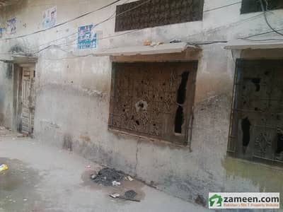 House Is Available For Sale In Allah Baksh Colony Old Contracted